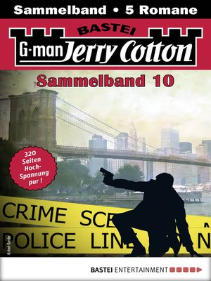 cover image of Jerry Cotton Sammelband 10--Krimi-Serie