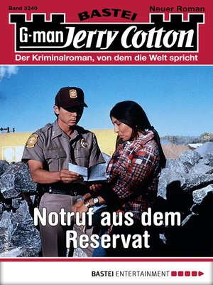cover image of Jerry Cotton 3240--Krimi-Serie