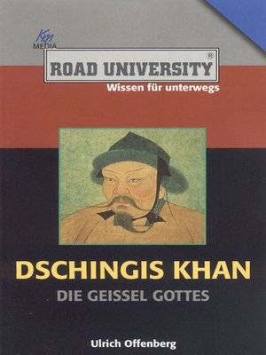 cover image of Dschingis Khan