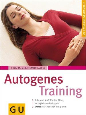 cover image of Autogenes Training