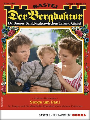 cover image of Der Bergdoktor 1926--Heimatroman