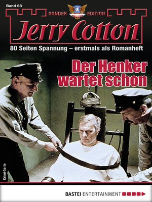 cover image of Jerry Cotton Sonder-Edition 68--Krimi-Serie