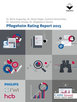 cover image of Pflegeheim Rating Report 2015