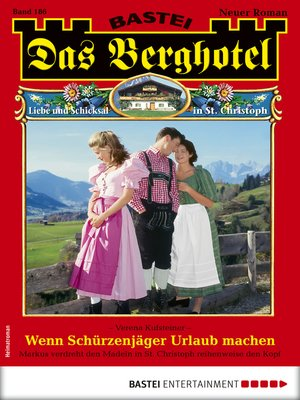 cover image of Das Berghotel 186--Heimatroman