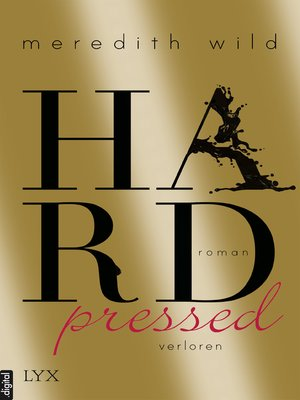 cover image of Hardpressed--verloren