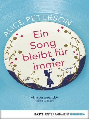 cover image of Ein Song bleibt für immer