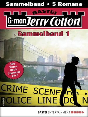 cover image of Jerry Cotton Sammelband 1--Krimi-Serie