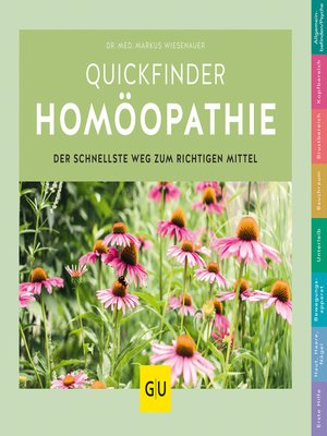 cover image of Quickfinder Homöopathie