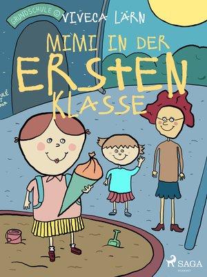 cover image of Mimi in der ersten Klasse