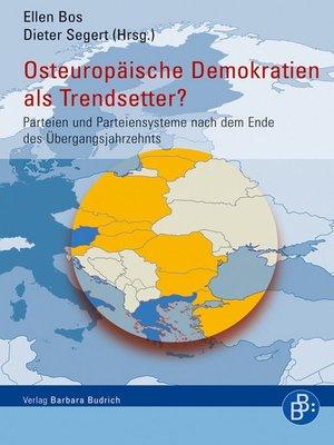 cover image of Osteuropäische Demokratien als Trendsetter?