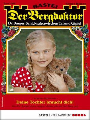 cover image of Der Bergdoktor 1958--Heimatroman
