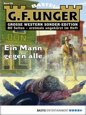 cover image of G. F. Unger Sonder-Edition 66--Western