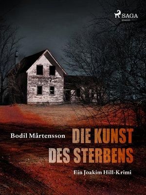 cover image of Die Kunst des Sterbens