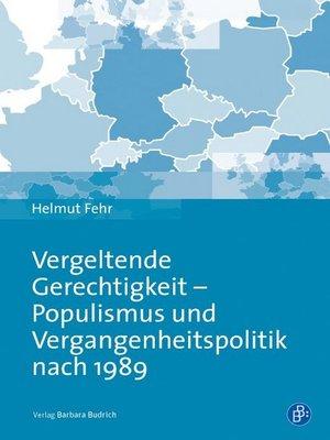 cover image of Vergeltende Gerechtigkeit--Populismus und Vergangenheitspolitik nach 1989