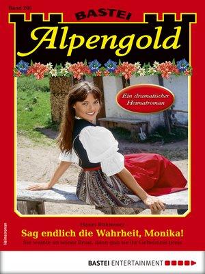 cover image of Alpengold 295--Heimatroman