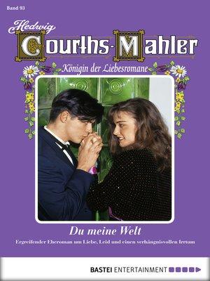 cover image of Hedwig Courths-Mahler--Folge 093