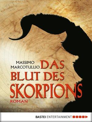 cover image of Das Blut des Skorpions