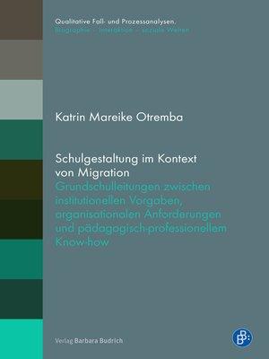 cover image of Schulgestaltung im Kontext von Migration