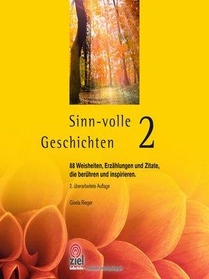 cover image of Sinn-volle Geschichten 2