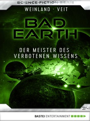 cover image of Bad Earth 34--Science-Fiction-Serie