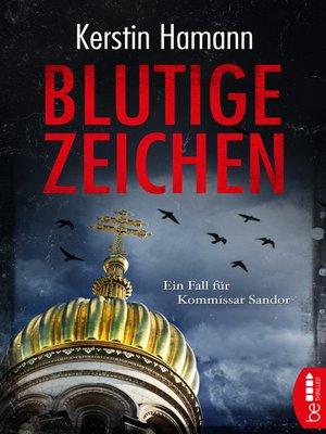 cover image of Blutige Zeichen