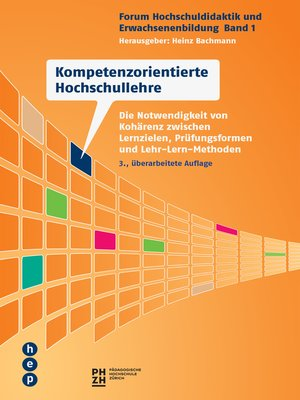cover image of Kompetenzorientierte Hochschullehre (E-Book)