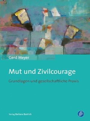 cover image of Mut und Zivilcourage