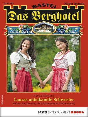 cover image of Das Berghotel 168--Heimatroman
