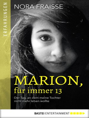 cover image of Marion, für immer 13
