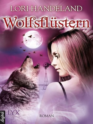 cover image of Wolfsflüstern