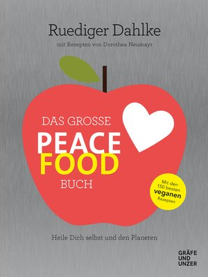 cover image of Das große Peace Food-Buch