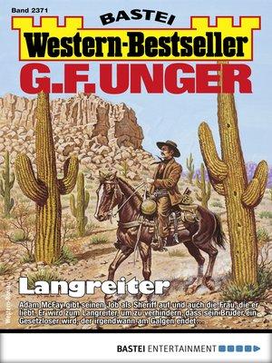 cover image of G. F. Unger Western-Bestseller 2371--Western