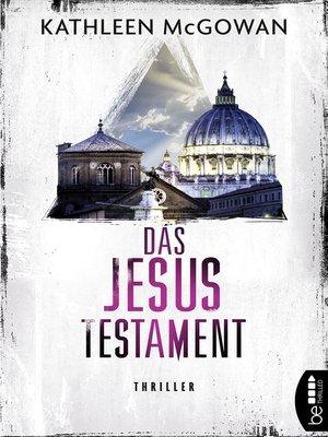 cover image of Das Jesus-Testament