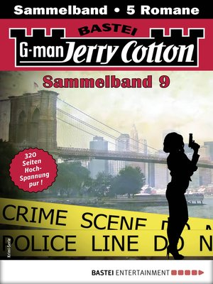 cover image of Jerry Cotton Sammelband 9--Krimi-Serie