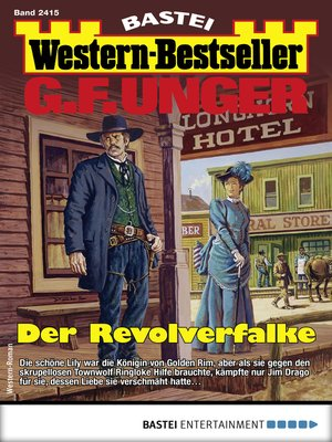 cover image of G. F. Unger Western-Bestseller 2415--Western