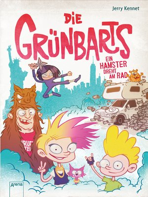 cover image of Die Grünbarts (3). Ein Hamster dreht am Rad