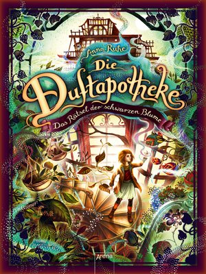 cover image of Die Duftapotheke (2). Das Rätsel der schwarzen Blume