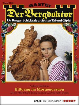 cover image of Der Bergdoktor--Folge 1716