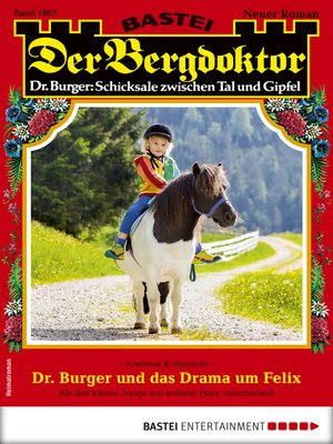 cover image of Der Bergdoktor 1967--Heimatroman