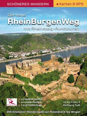 cover image of Rheinburgenweg mit Rheinsteig-Rundtouren -Schöneres Wandern Pocket