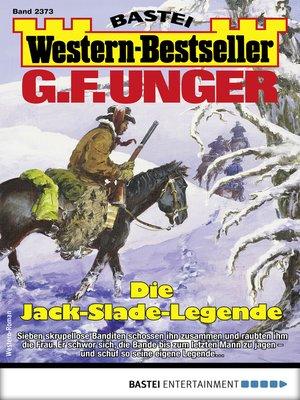 cover image of G. F. Unger Western-Bestseller 2373--Western