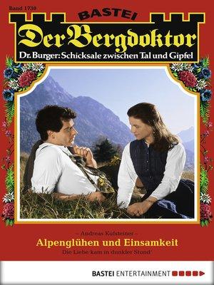 cover image of Der Bergdoktor--Folge 1730