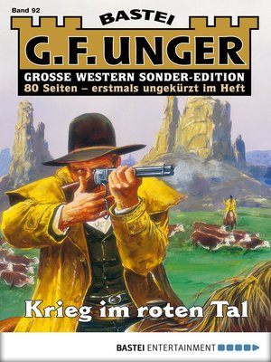 cover image of G. F. Unger Sonder-Edition 92--Western
