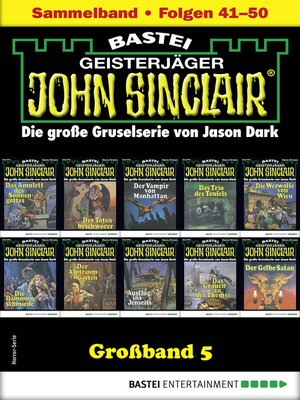 cover image of John Sinclair Großband 5--Horror-Serie