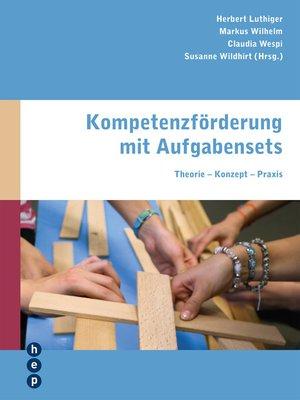cover image of Kompetenzförderung mit Aufgabensets