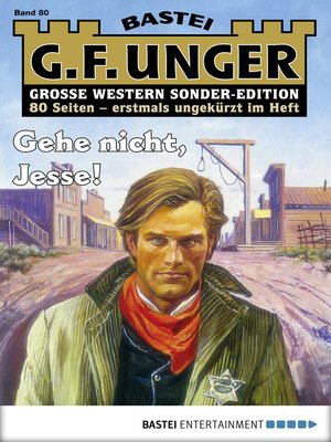 cover image of G. F. Unger Sonder-Edition 80--Western