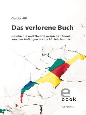 cover image of Das verlorene Buch