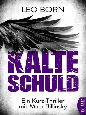 cover image of Kalte Schuld
