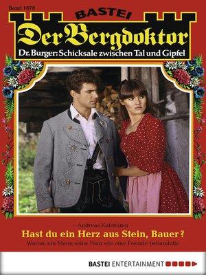 cover image of Der Bergdoktor--Folge 1678