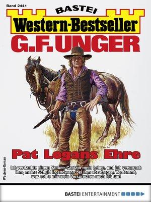 cover image of G. F. Unger Western-Bestseller 2441--Western